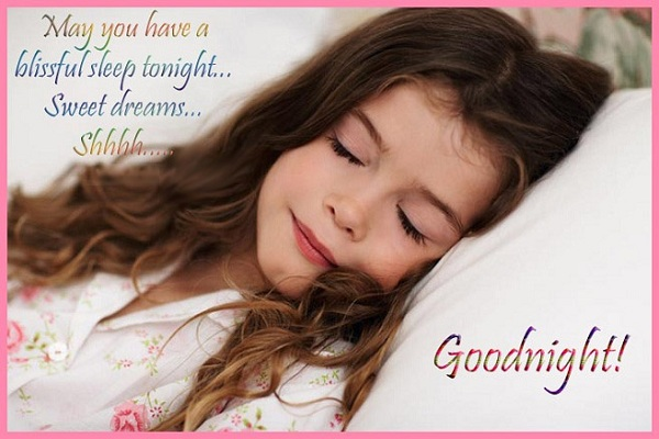 Good night sms for all.