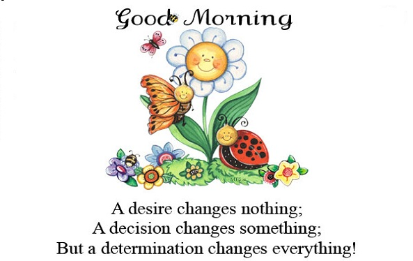 Good morning sms 140 character