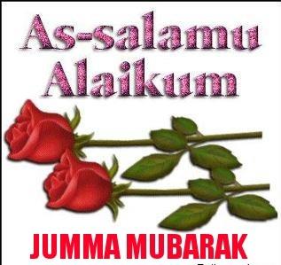 Islamic jumma mubarak text messages