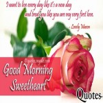 Romantic good morning quotes with images