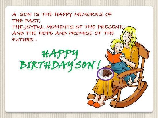 Happy Birthday Greeting Cardsecards For Son
