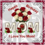 happy Birthday greeting card for Mother,