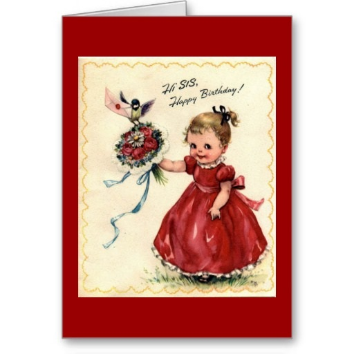 Free E Birthday Cards For Sister gangcraftnet – Happy Birthday Sis Cards