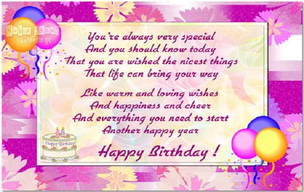 happy birthday poems for friends