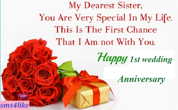 Wedding Anniversary Gifts For Sister And Brother In Law India : for sister wedding wishes for sister wedding wishes for sister