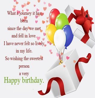 Happy birthday messages for lover