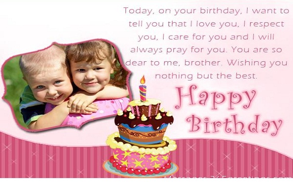 Birthday wishes Quotes for sister & Brother