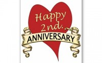 Happy 2nd wedding anniversary to my wife