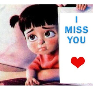 I miss you messages for him and her