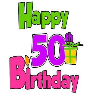 50th Birthday Wishes For A Friend
