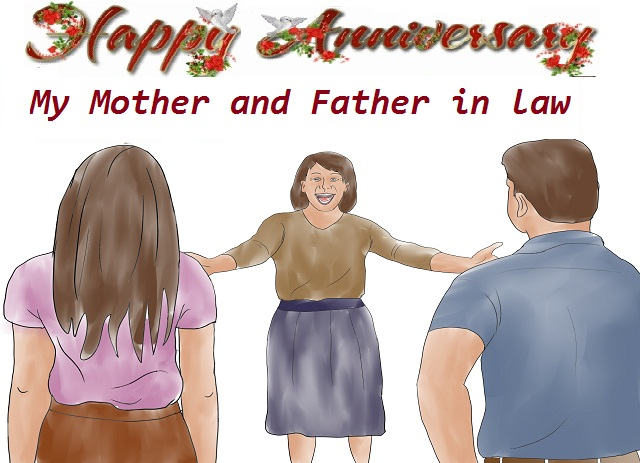 Happy anniversary wishes to parents in law