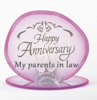 happy anniversary to in laws