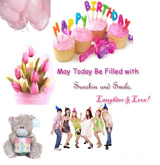 Happy birthday greetings to a friend