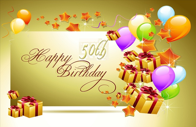 Happy 50th birthday greetings in english happy 50th birthday greetings m4hsunfo