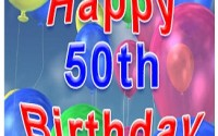 Happy 50th Birthday Greetings