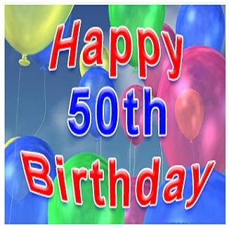 Happy 50th Birthday Greetings