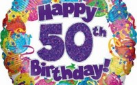 Happy 50th Birthday Messages