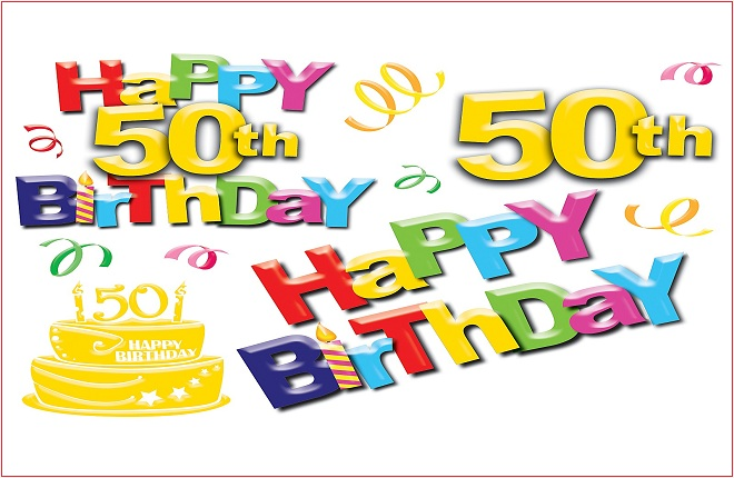Happy 50th Birthday Wishes