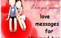 Love messages for him and her