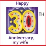 30th wedding anniversary quotes for wife