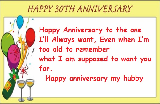 30th wedding anniversary quotes to my husband