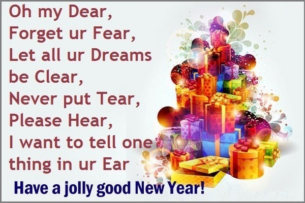 Happy new year greeting cards 2018 for New year eve messages friends