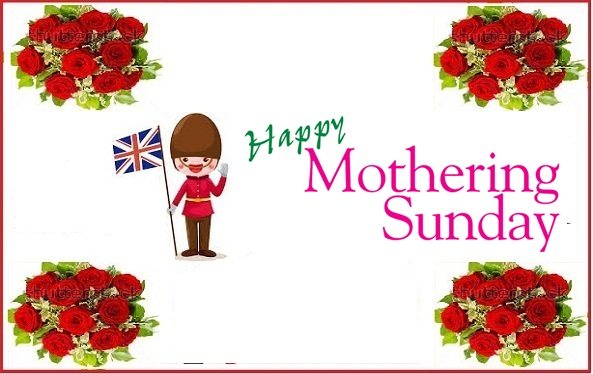 Mothering Sunday 2016 in UK