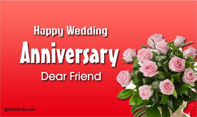 Best Marriage Anniversary Messages for Friends