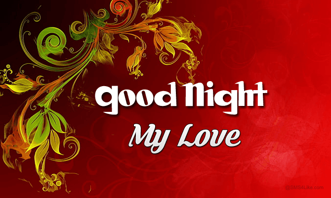 Sweet Good Night Wishes to My Love