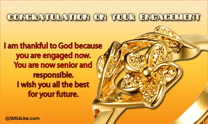Congratulations Messages on Engagement