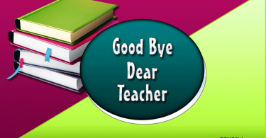 Farewell Messages for Teachers