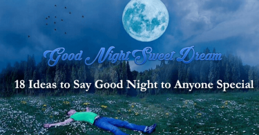 ideas to say good night