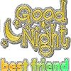 Good night sms messages for best friends